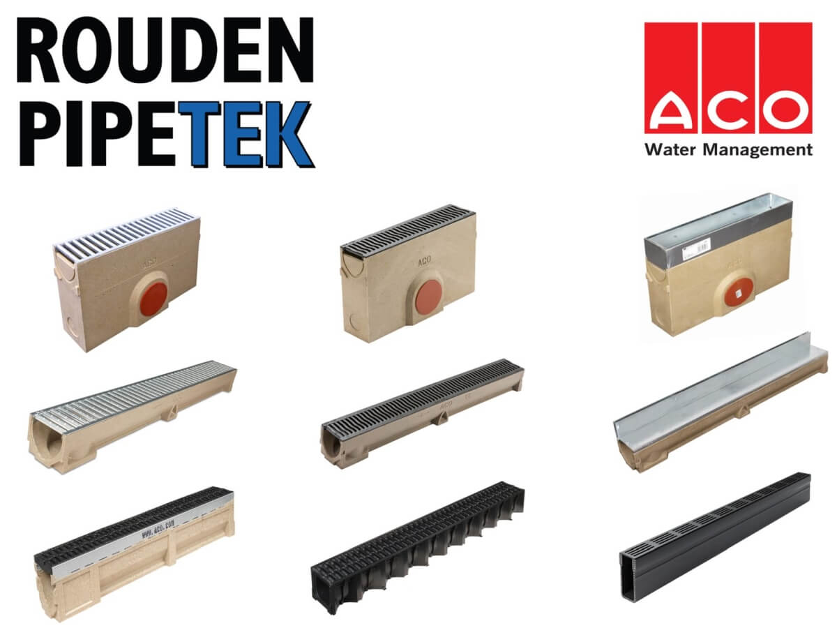 We now stock ACO Linear Drainage!