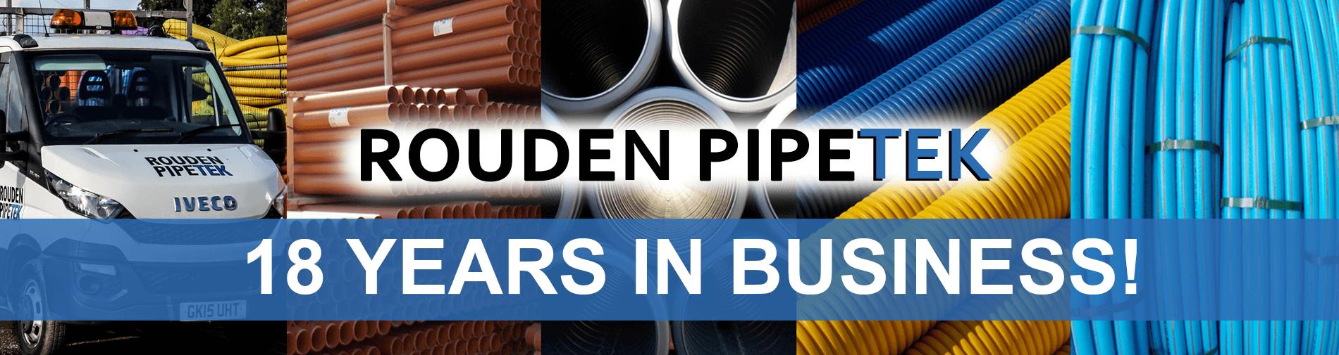 Rouden Pipetek- 18 Years in Business!