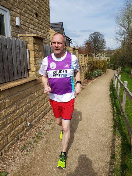 Rouden sponsors Mark Bushell running London Marathon 2019!
